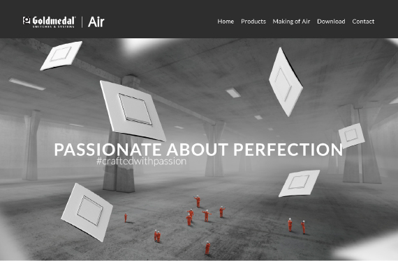Website Design for www.airmodular.in