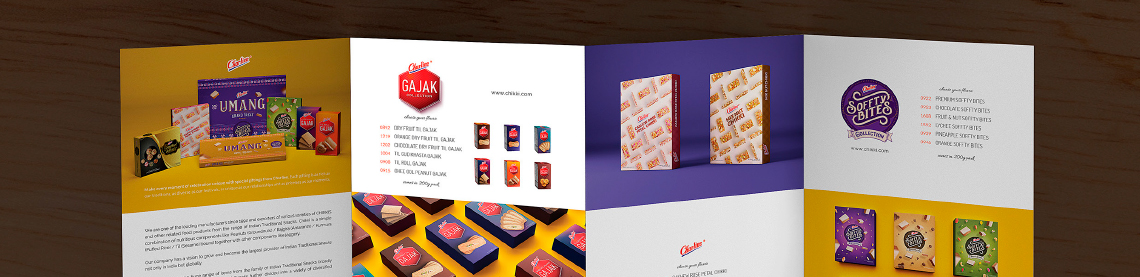 charliee chikki packaging and outdoor communication