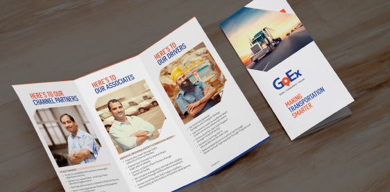 GOEX BROCHURE AND LEAFLET